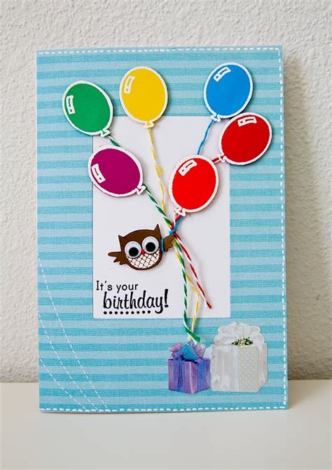 make birthday cards how to make a birthday card for kid make card