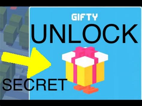 how to get the in crossy road crossy road unlock secret character gifty youtube