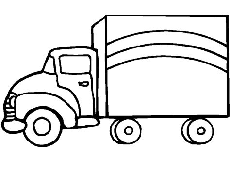Truck Color Page truck coloring pages truck coloring pages