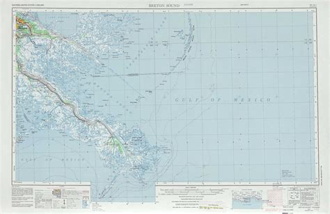 louisiana physical map south of breton sound topographic maps la usgs topo