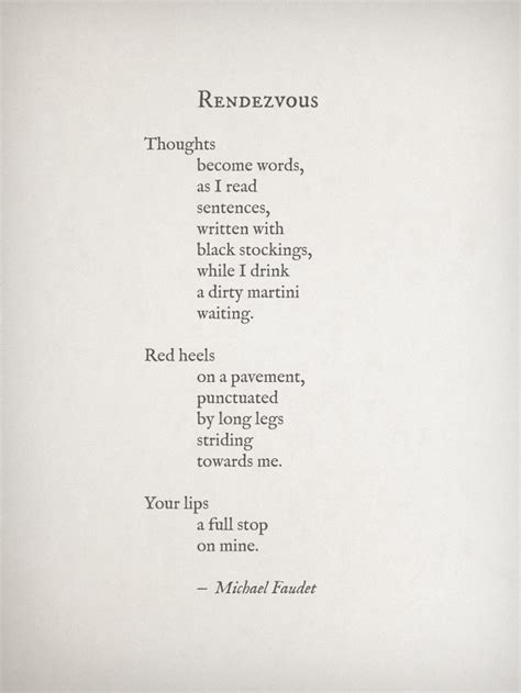 libro dirty rendezvous pretty rendezvous by michael faudet all things in my eyes thoughts pavement and