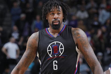 deandre jordan hair deandre jordan planned a vacation before making all star team