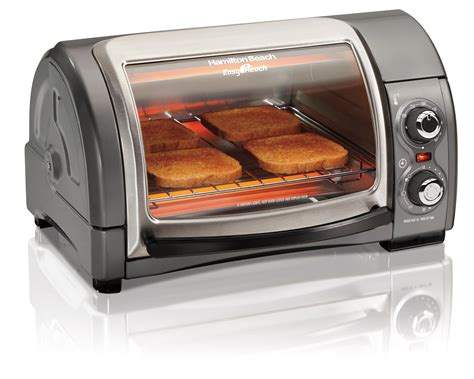 Toaster Ovens Amazon Amazon Com Hamilton Beach Easy Reach Toaster Oven