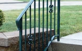 Exterior Handrail Kits For Stairs by Lovely Exterior Stair Railing Kits 8 Outdoor Wrought Iron