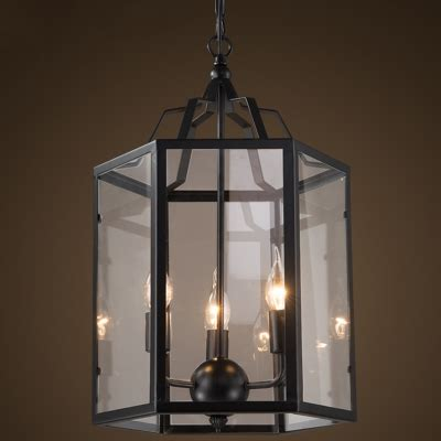 lantern style chandelier lighting lantern style 3 light chandelier in black finish
