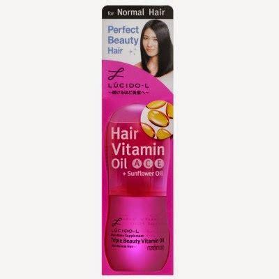 Vitamin Rambut Mandom Rawat Rambut Indahmu Review Lucido L