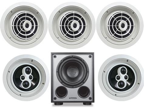 speakercraft ceiling speakers speakercraft 174 aim8 one in ceiling 5 1 speaker system