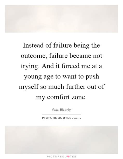 Failure Comfort by Comfort Zone Quotes Sayings Comfort Zone Picture Quotes