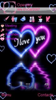 nokia 5130 i love you themes download i love you nokia theme mobile toones
