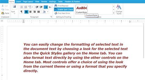 rich text format adalah applying styles ui for silverlight documentation by progress