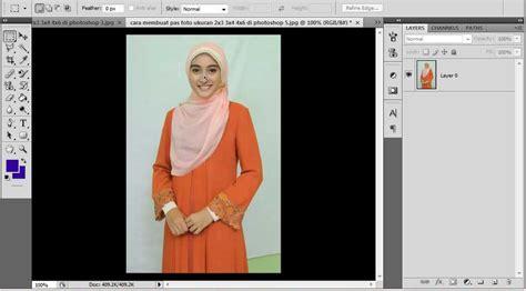 cara membuat garis di photoshop cs 4 praktis cara membuat pas foto dengan ukuran 2 3 3 4 dan