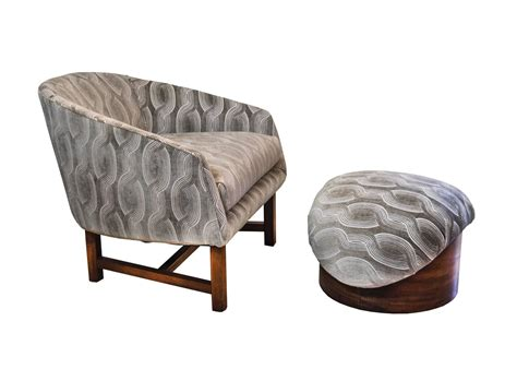modern reading chair mid century modern reading chair and ottoman for sale at 1stdibs