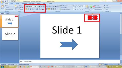 cara membuat shortcut power point ke desktop f blogger tips cara membuat tombol close pada presentasi