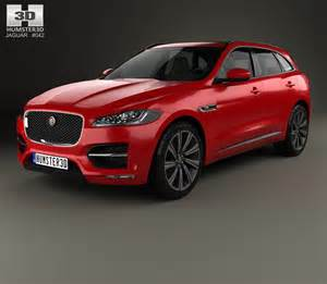 Jaguar Sports Models Jaguar F Pace R Sport 2016 3d Model Humster3d