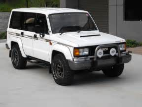 Isuzu 4wd For Sale 1989 Isuzu Bighorn Irmscher R Trooper Jdm Rhd 4wd Turbo