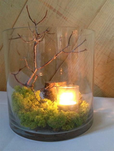 deko windlicht 1001 ideen f 252 r deko mit moos zum erstaunen und bewundern
