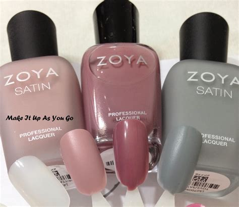 Make Up Zoya make it up as you go zoya nail review