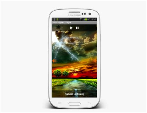 android layout animation slide exle android viewflipper exle creating image slideshow