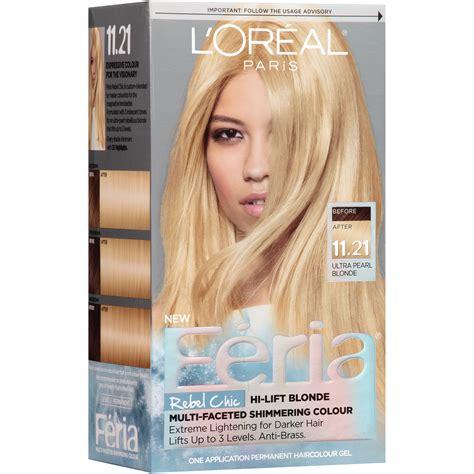 f ria hair colour from lor al paris hair skin make l oreal paris feria 174 rebel chic hair color