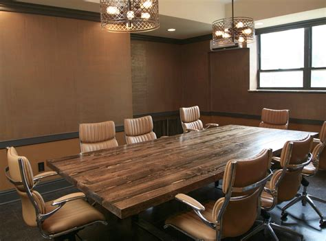 10 ft conference room table ft steel conference table farmhouse tabl on