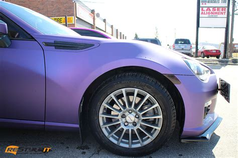 purple subaru matte metallic purple subaru brz vehicle customization