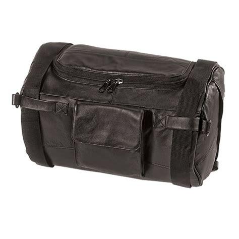 Black Roll Bag black leather roll bag 3007b