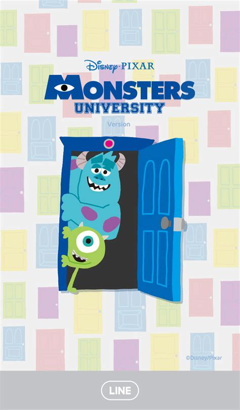 theme line monster university cm hacked new line theme shop monsters university