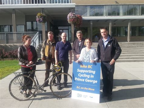 Prince George Detox by City Of Prince George To Rehab Cycling Infrastructure My