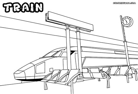 coloring page train station train coloring pages coloring pages to download and print