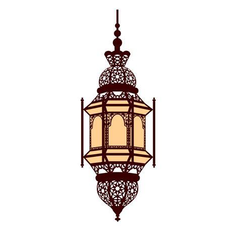 islamic arabic lamp ramadan lantern  clipart
