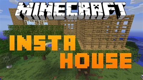 minecraft house mod minecraft 1 5 2 como instalar insta house mod casas instantaneas youtube