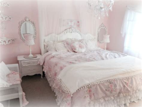 bedroom light pink chic bedroom