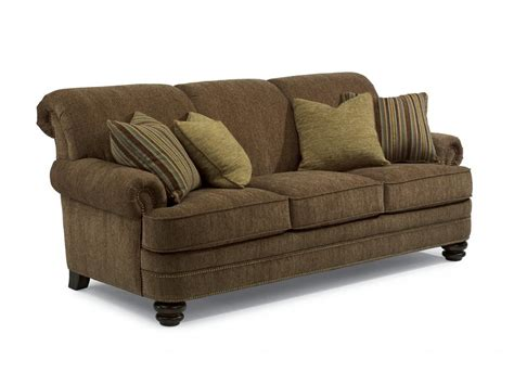 flexsteel living room fabric sofa 7791 31 schmitt