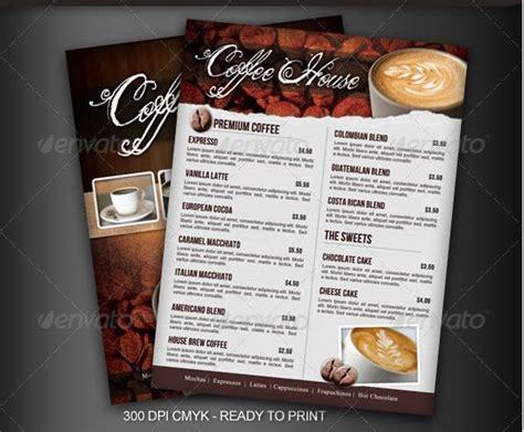 coffee shop menu design free coffee shop menu coffee shop pinterest coffee shop