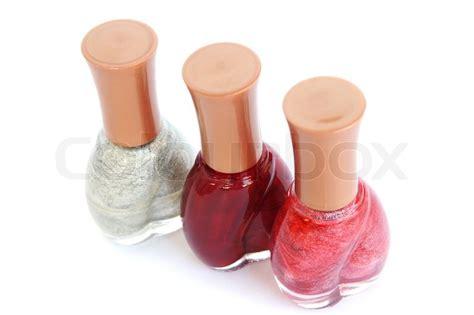 Colour Box Nail nail polishes stock photo colourbox
