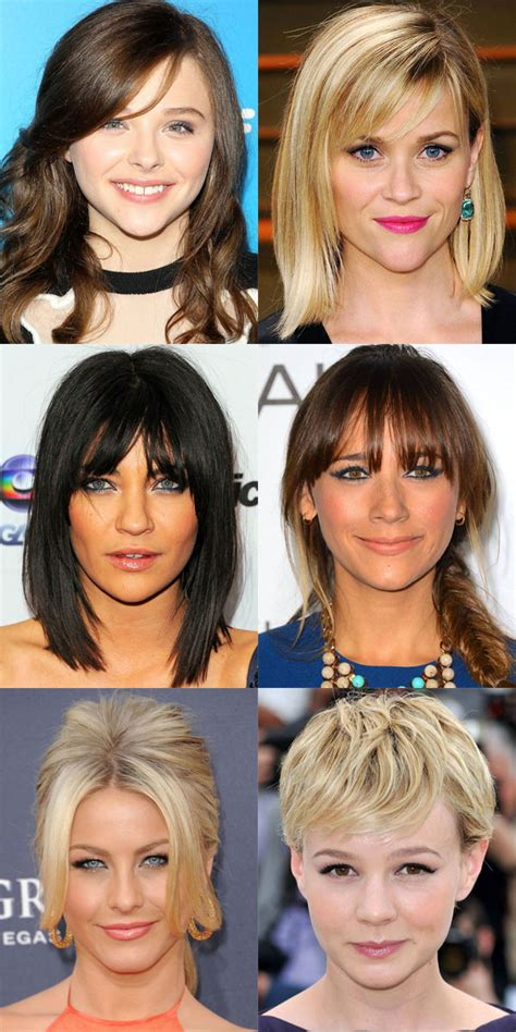inverted triangle heart shape face haircuts the best and worst bangs for inverted triangle faces