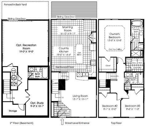 ryan homes floor plans strauss townhouse in lafayette crossings va ryan homes the stuff about lafayette crossings