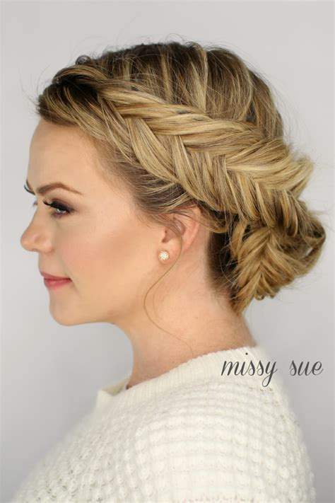 updos in braids double dutch fishtail braid updo