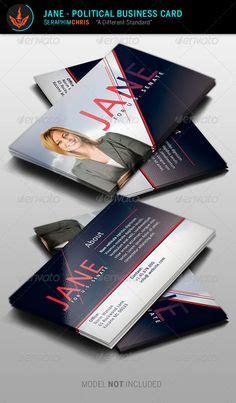 political business card templat political business card template 6 modern business card