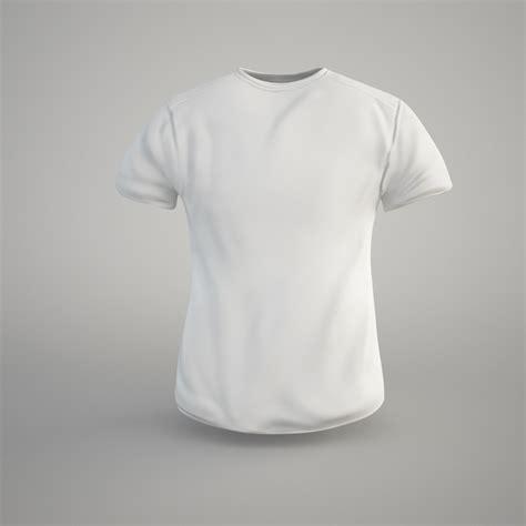 T Shirt3 3d model t shirt vr ar low poly obj fbx c4d cgtrader