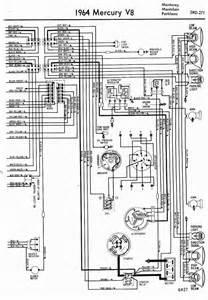 wiring diagrams of 1964 mercury v8 monterey montclair parklane part 2 circuit wiring diagrams