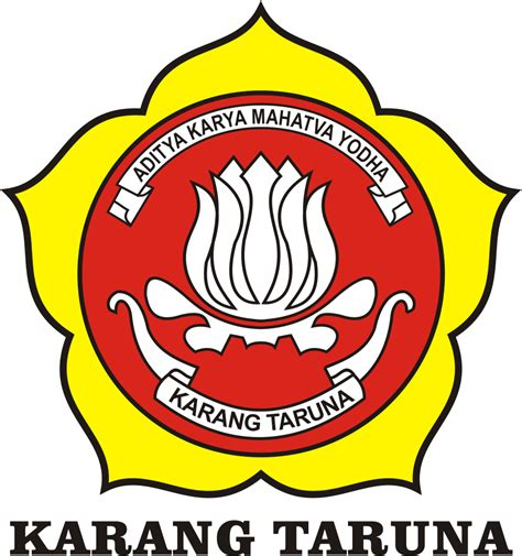 logo karang taruna gambar logo