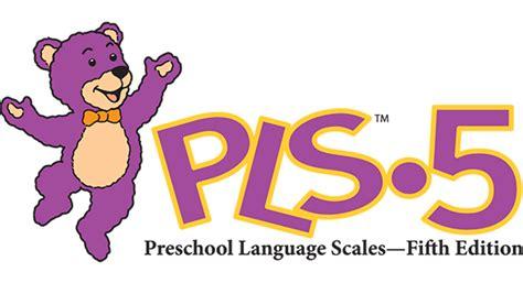 preschool language scale 5 sle report speech and language digital choices pearson
