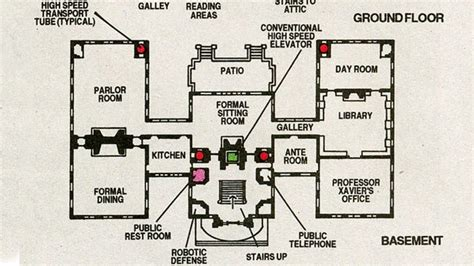 x men mansion floor plan how does x men s charles xavier leave his own house