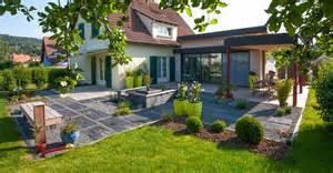 terrasse jardin moderne