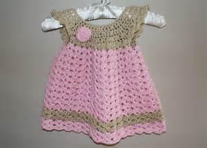 Baby dress pinafore crochet newborn dress infant by lanacooper
