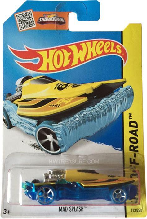 Wheels Hotwheels Mad Splash Yellow Th mad splash wheels 2015 treasure hunt hwtreasure