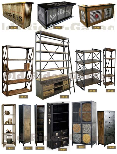 Loft In Garage old rider garage com muebles vintage industriales