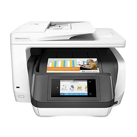Office Max Printer by Hp Officejet Pro 8730 Wireless All In One Printer Copier