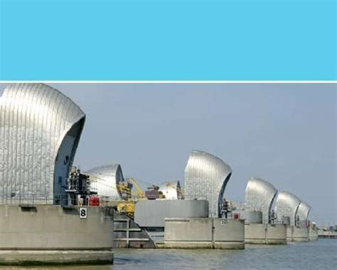 thames flood barrier how does it work thames barrier shuts for the first time in two years to